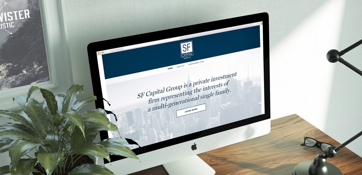 New York based Investment Firm Corporate Website - Dezmi Design